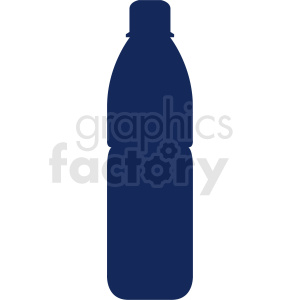 soda bottle silhouette no background clipart. Commercial use image # 409107