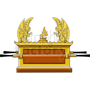 ark of the covenant clipart. Commercial use image # 409255