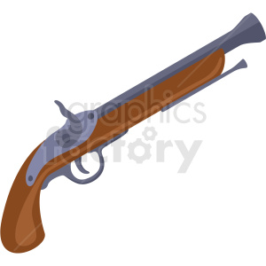 pirate pistol vector clipart no background clipart. Royalty-free image # 409433