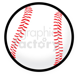 baseball vector clipart no background