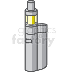 vape pen vector clipart