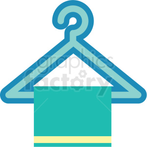 clothing hangers icon clipart. Royalty-free image # 409710