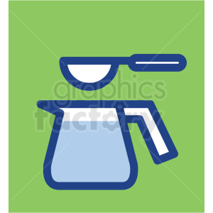 pitcher with spoon vector icons clipart. Royalty-free image # 409728