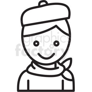 artist icon clipart. Commercial use image # 409742