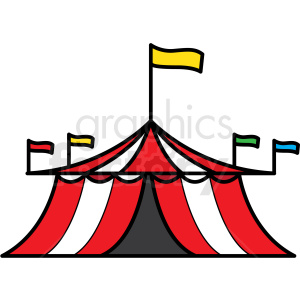 circus tent icon clipart. Royalty-free image # 409908