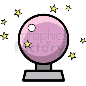 magic ball icon clipart. Commercial use image # 409918