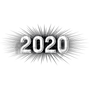 2020 burst new year clipart clipart. Commercial use image # 410048