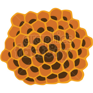 honeycomb vector clipart no background clipart. Royalty-free image # 410062