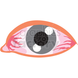 human eye vector icon