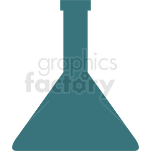 science test beaker silhouette clipart clipart. Royalty-free image # 410271