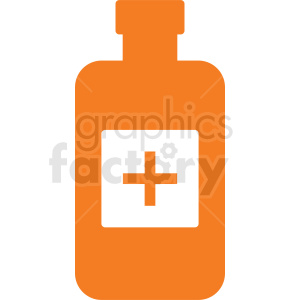 medication bottle no background clipart. Commercial use image # 410276