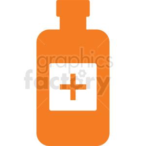 medication bottle no background clipart. Royalty-free image # 410276