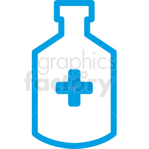 medication bottle outline no background clipart. Commercial use image # 410305