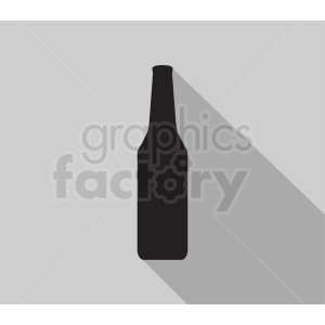 bottle silhouette clipart on gray background clipart. Royalty-free image # 410328