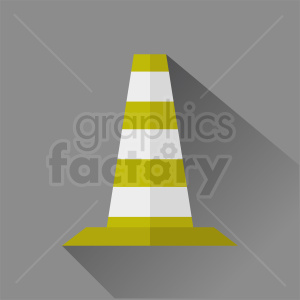 construction zone cone vector clipart gray square background clipart. Royalty-free image # 410348