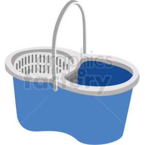 cleaning bucket vector clipart clipart. Commercial use image # 410553