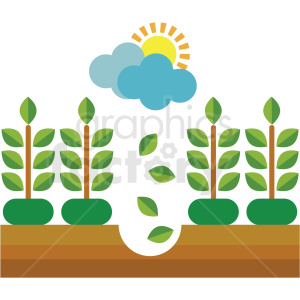 agriculture vector icon clipart. Commercial use image # 410628
