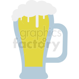 vector beer glass clipart. Royalty-free image # 410714