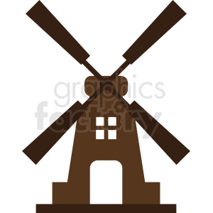 vector windmill clipart clipart. Royalty-free image # 410752