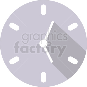 clock vector icon design clipart. Royalty-free image # 410825
