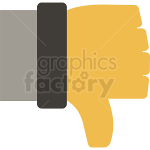 thumb down icon clipart. Commercial use image # 410995