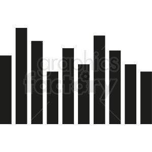 bar chart template clipart. Royalty-free image # 411024