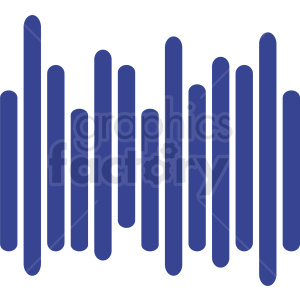blue bar chart icon clipart. Commercial use image # 411044