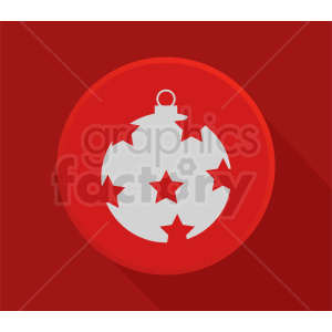 christmas decoration vector clipart clipart. Commercial use image # 411054