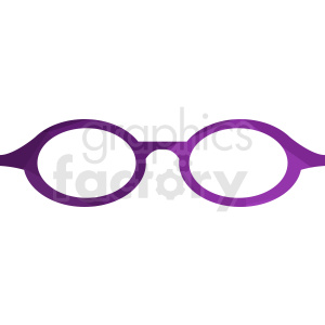 purple sunglasses vector clipart clipart. Royalty-free image # 411066