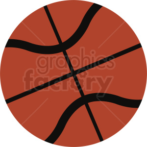 vector basketball clipart clipart. Royalty-free image # 411082