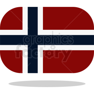 flag of Norway clipart. Royalty-free image # 411122