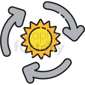 climate change vector icon clipart. Royalty-free image # 411191