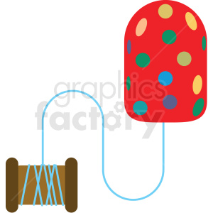 knitting vector clipart clipart. Royalty-free image # 411630