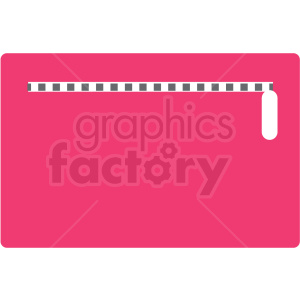 pink clutch purse vector clipart clipart. Royalty-free image # 411663