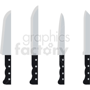 clipart cooking knives clipart. Commercial use image # 411872
