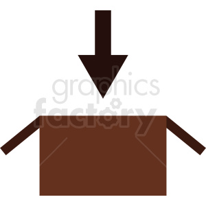 box download icon vector clipart. Commercial use image # 411894