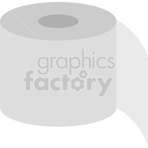 toilet paper vector icon clipart. Royalty-free image # 411941