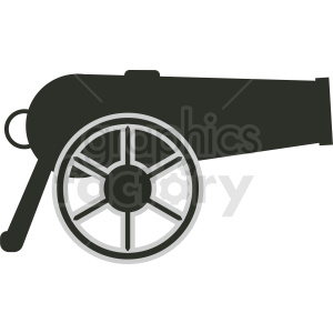 vector cannon clipart clipart. Commercial use image # 411951