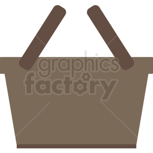 picnic baskets vector clipart clipart. Commercial use image # 411991