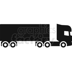 vector big rig clipart clipart. Commercial use image # 412048