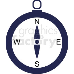 cartoon compass vector clipart. Commercial use image # 412091