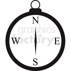 basic compass vector clipart clipart. Royalty-free image # 412094