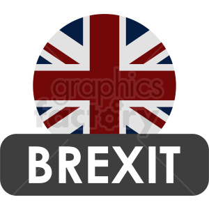 Brexit icon design clipart. Commercial use image # 412170