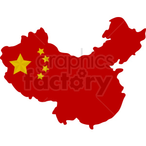 China country vector design clipart. Commercial use image # 412172