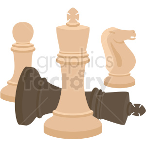chess pieces vector clipart clipart. Commercial use image # 412484