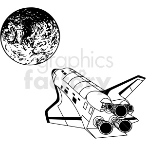 space travel vector clipart clipart. Royalty-free image # 412643