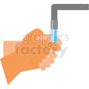 washing hands vector clipart clipart. Royalty-free image # 412734