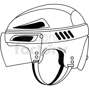 hockey helmet clipart design clipart. Commercial use image # 412940