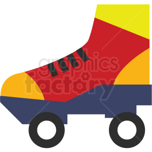 roller skate vector clipart icon clipart. Commercial use image # 412979