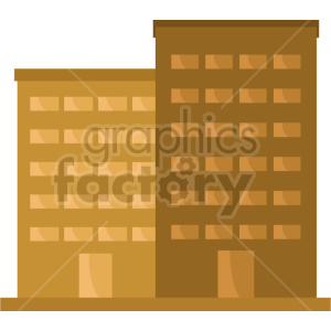 office building vector clipart icon 2 clipart. Commercial use image # 413485